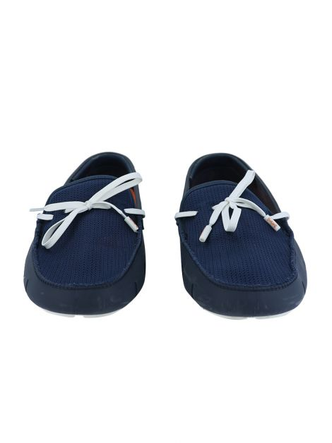 Mocassim Swims Braided Lace Navy