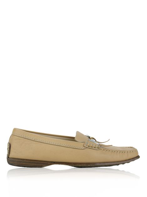 Mocassim Tod's Couro Nude