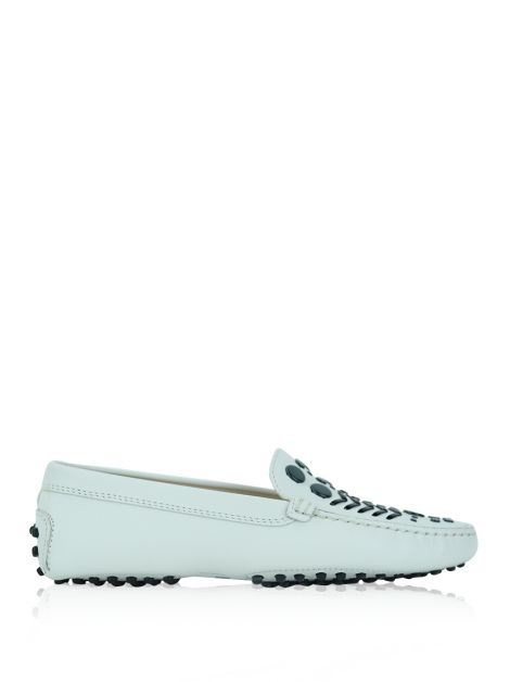 Mocassim Tod's Couro Off White