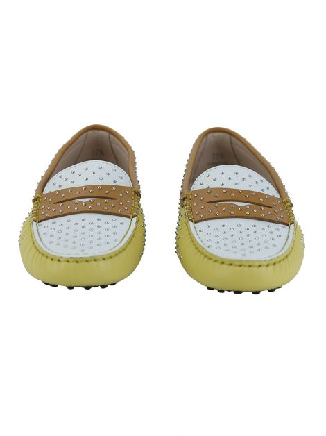Mocassim Tod's Penny Stud Tricolor