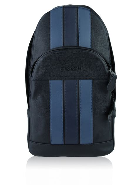 Mochila Coach Houston Varsity Stripe