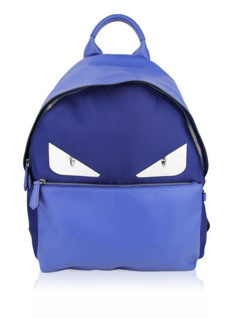 Mochila Fendi Monster Eyes Azul