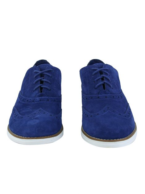 Oxford Cole Haan Suede Azul