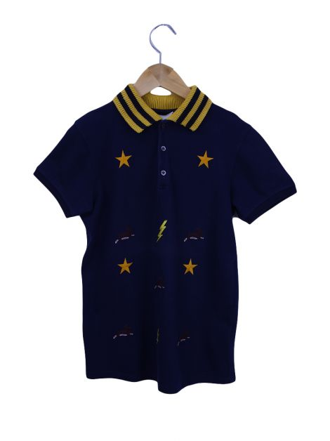 Polo Gucci Bordada Infantil