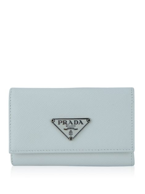 Porta Chaves Prada Saffiano Off-White