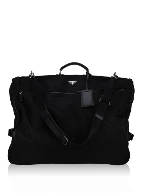 Porta terno Prada Saffiano Leather and Nylon Garment Bag