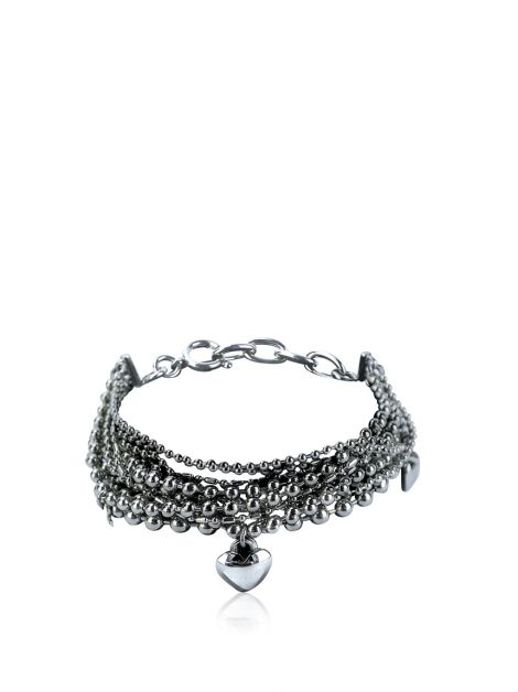 Pulseira Moschino Cheap and Chic Prateada
