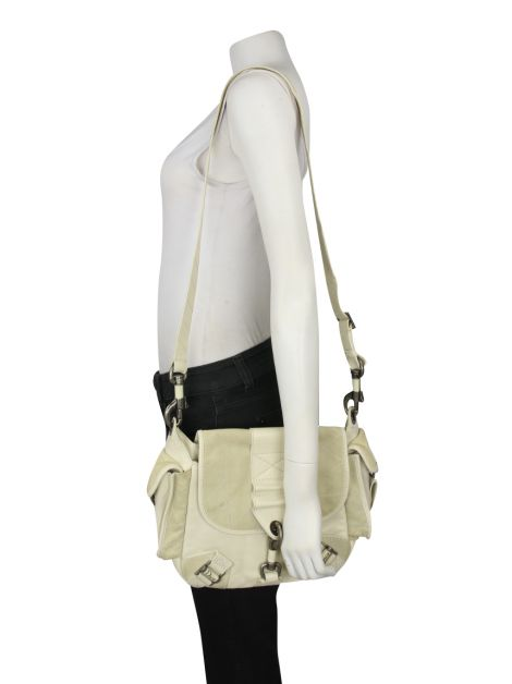 Bolsa Christian Dior Rebelle Off-White