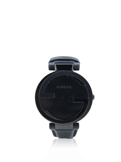 Relógio Gucci Interlocking G Preto