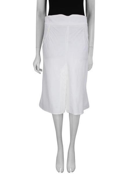 Saia Cris Barros Midi Off White