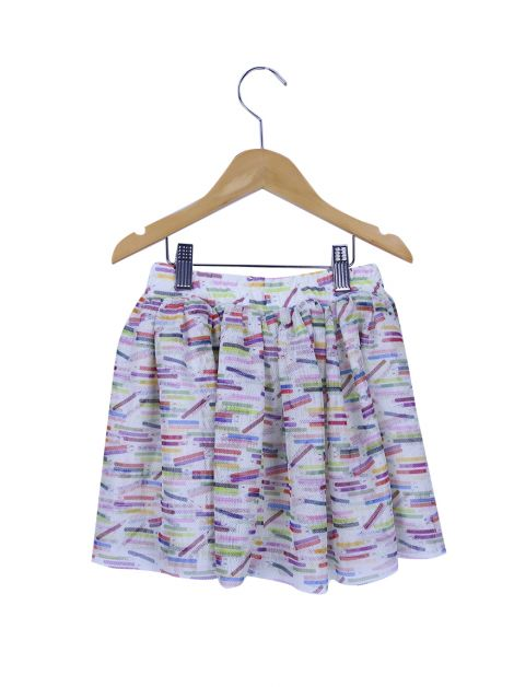 Saia Mixed Kids Tule Estampada Toddler