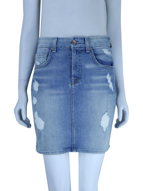 Saia Seven For All Mankind Jeans Destroyed