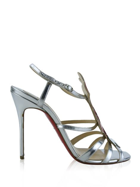 Sandália Christian Louboutin Cloudy Night Prateado