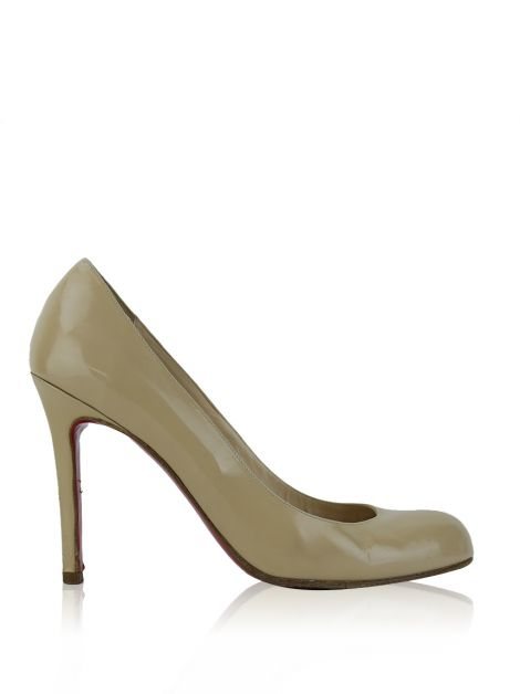 Sandália Christian Louboutin Simple Pump Nude