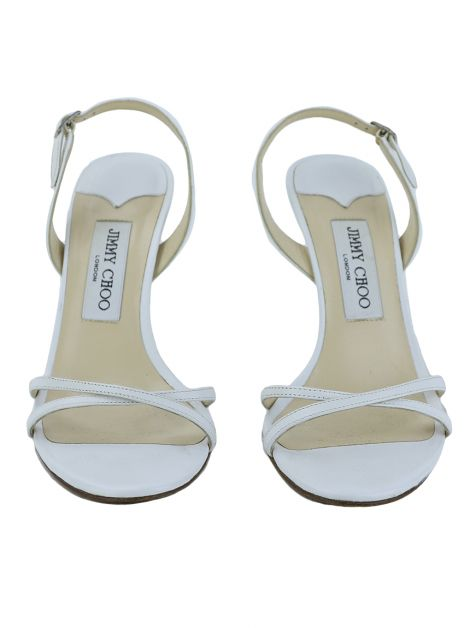 Sandália Jimmy Choo India Branca