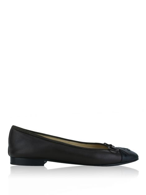 Sapatilha Chanel CC Cap Toe Bicolor