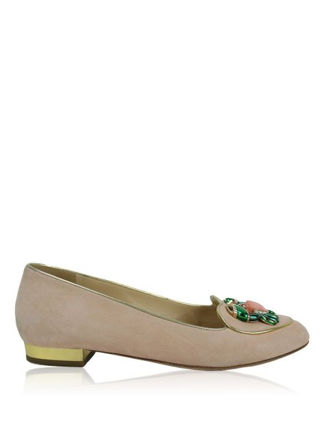 Sapatilha Charlotte Olympia Birthday Shoes Cancer