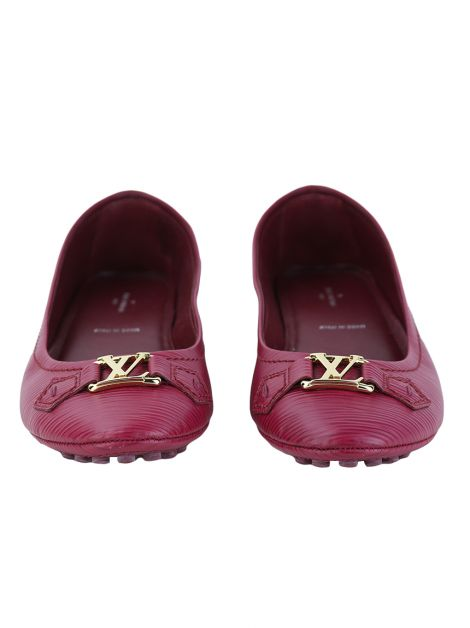 Sapatilha Louis Vuitton Oxford Ballerina Raspberry