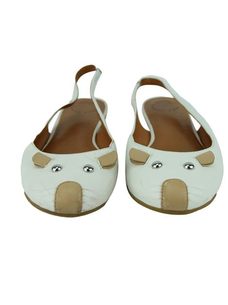 Sapatilha Marc Jacobs Slingback Studded Mouse