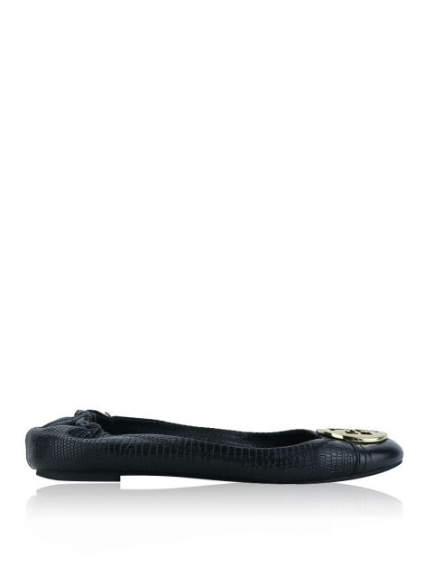 Sapatilha Tory Burch Minnie Embossed Preto - AHO