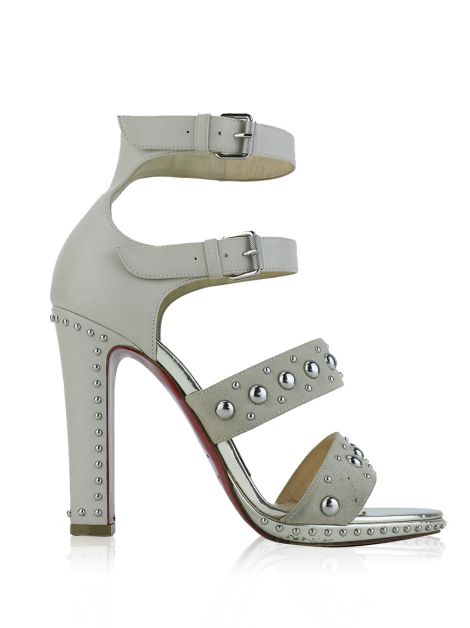 Sapato Christian Louboutin DecoDame Off White