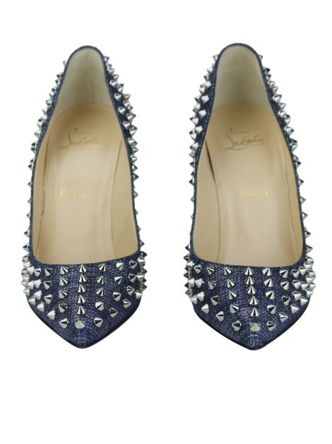 Sapato Christian Louboutin Follies Spike