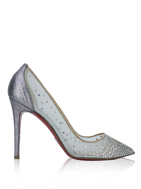 Sapato Christian Louboutin Follies Strass