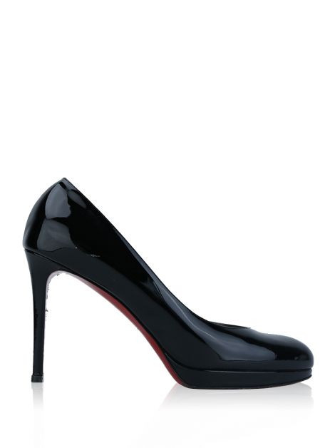 Sapato Christian Louboutin New Simple Pump Verniz Preto