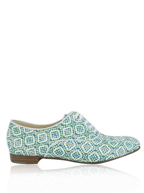 Sapato Christian Louboutin Oxford Multicolor