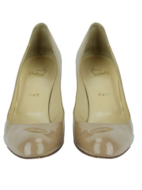 Sapato Christian Louboutin Simple Pump 70 Nude
