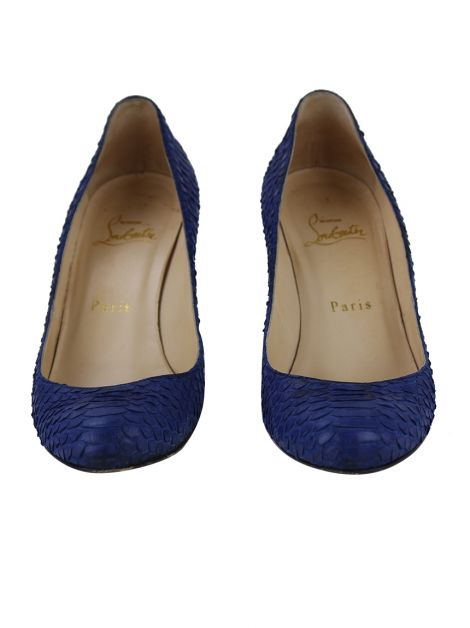 Sapato Christian Louboutin Simple Pump Azul