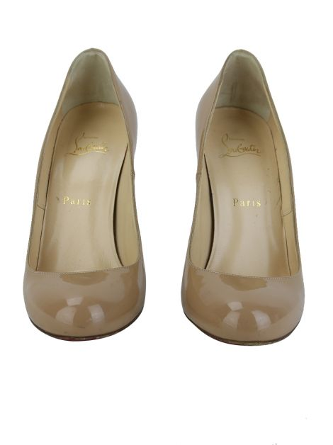 Sapato Christian Louboutin Simple Pump Bege