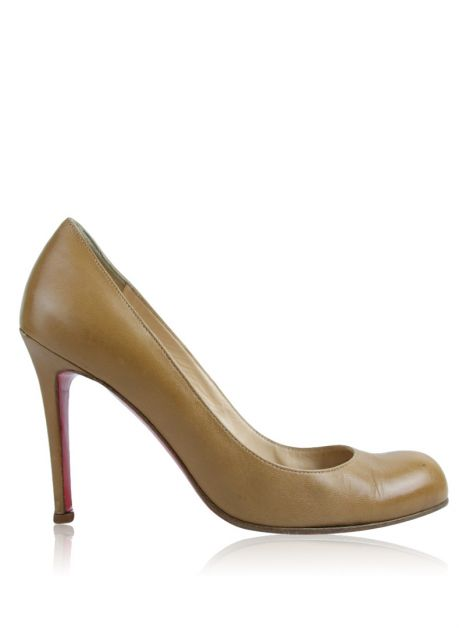 Sapato Christian Louboutin Simple Pump Caramelo