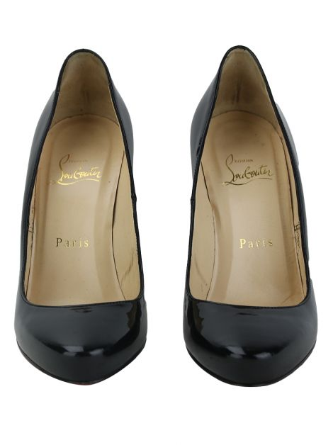 Sapato Christian Louboutin Simple Pump Verniz Preto