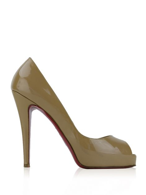 Sapato Christian Louboutin Very Prive Bege