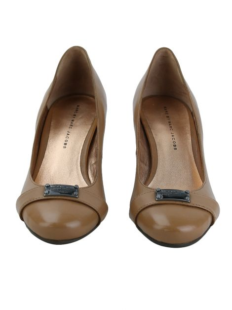 Sapato Marc by Marc Jacobs Couro Caramelo