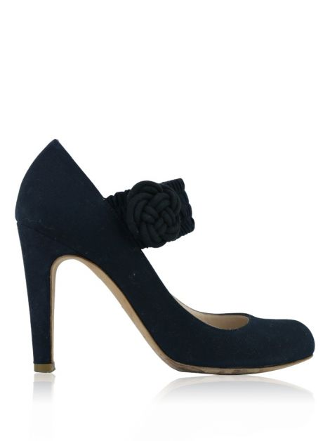 Sapato Marc By Marc Jacobs Mary Jane Preto