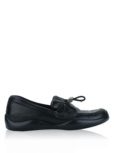 Sapato Prada Toggle Driving Loafer Preto