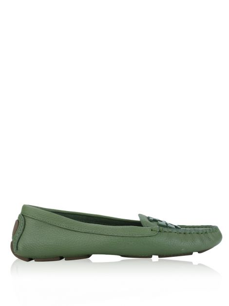 Sapato Tory Burch Lowel 2 Driver Loafer Verde