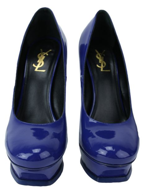 Sapato Yves Saint Laurent Tribute 105 Pump Azul