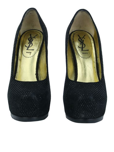 Sapato Yves Saint Laurent Tribute Preto