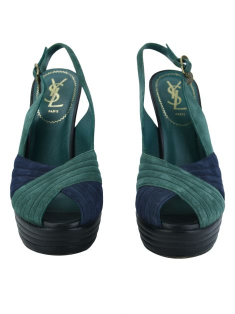 Sapato Yves Saint Laurent Tricolor