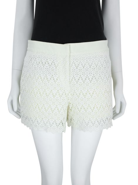 Short Le Lis Blanc Renda Off-White