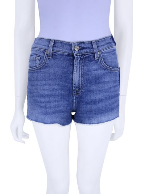 Short Seven For All Mankind Jeans Azul