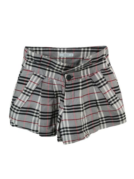 Shorts Animale Amplo Xadrez