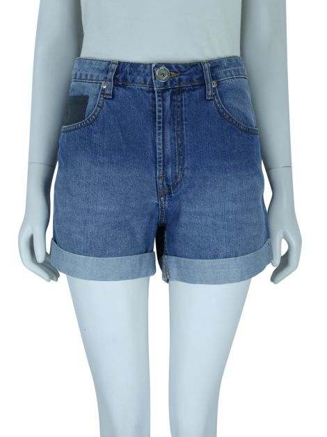 Shorts Animale Jeans Curto