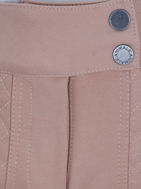 Shorts Animale Tecido Rose