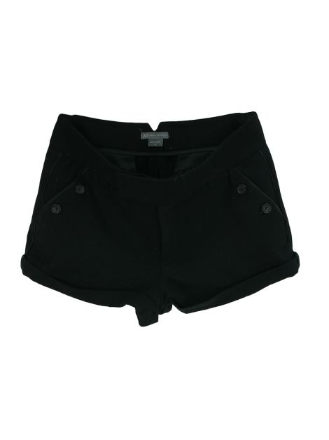 Shorts Armani Exchange Lã Preto