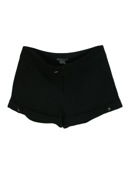 Shorts Armani Exchange Tecido Preto
