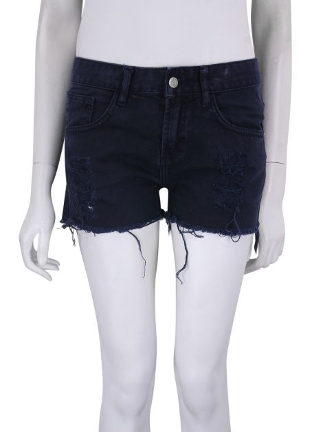 Shorts Daslu Denim Marinho